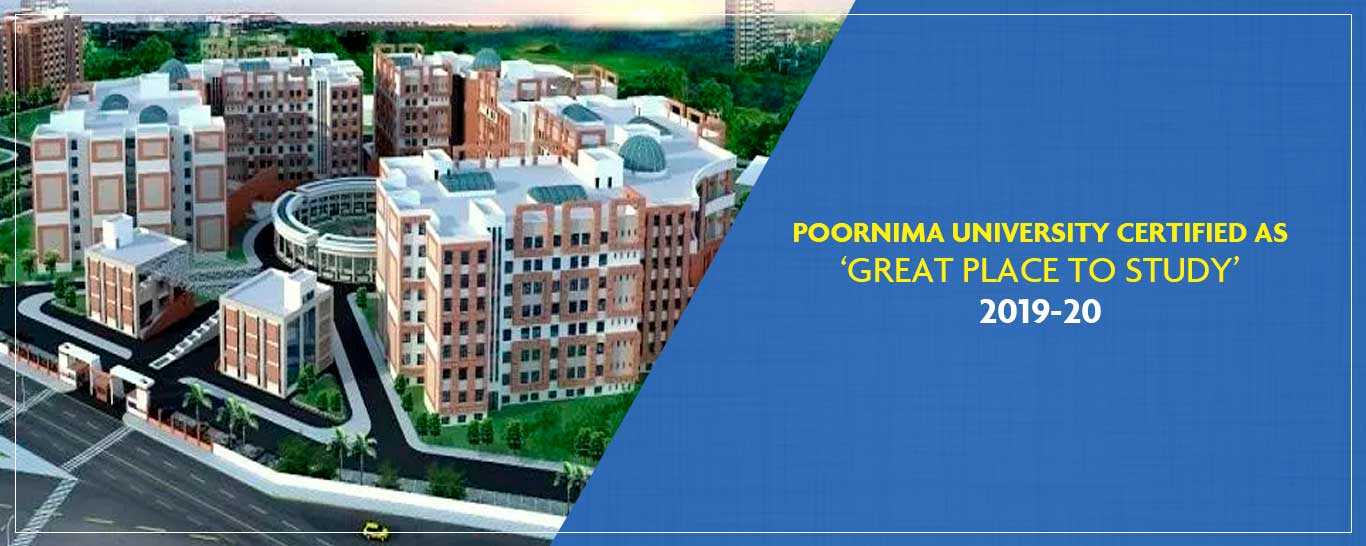 Poornima-University-certified-as-'Great-Place-To-Study-2019-20