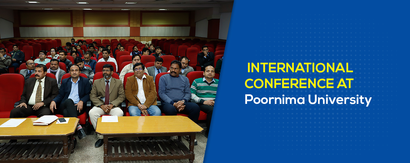 International Conference At Poornima University